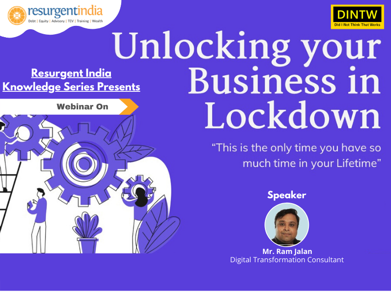 Webinar On Unlocking your business in lockdown