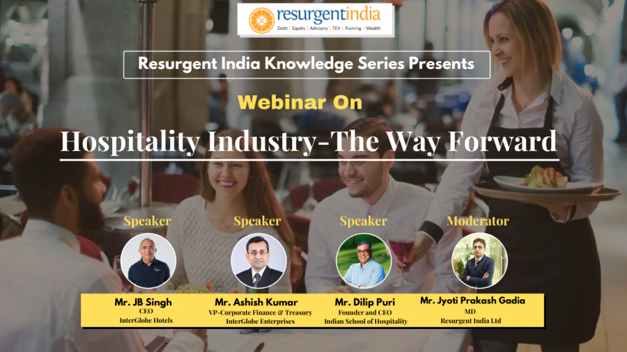 Webinar On Hospitality Industry- The way forward