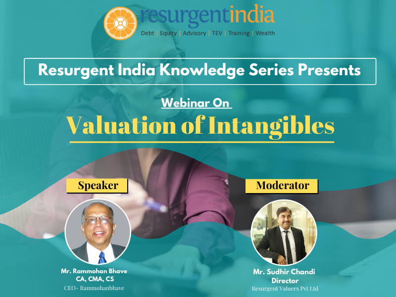 Webinar On Valuation of Intangibles