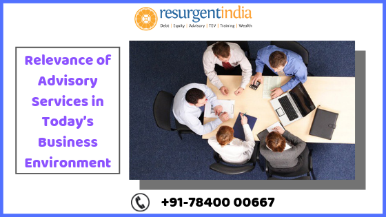 Relevance of Advisory Services in Today's Business Environment