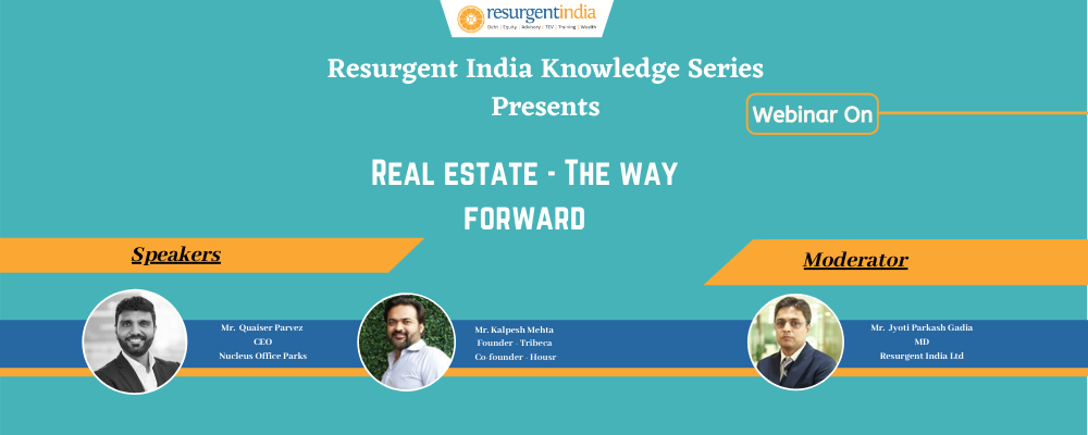 Webinar on Real Estate- A Way Forward