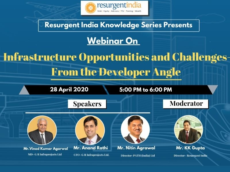Webinar on-Infrastructure Opportunities & Challenges-Developers Angle
