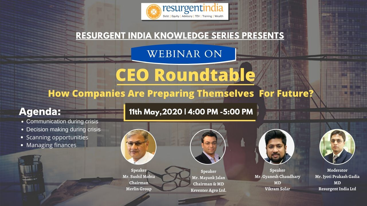 Webinar-CEO Roundtable How Companies Are Preparing Themselves For Future