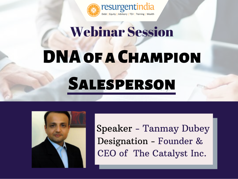 Webinar On DNA of A Champion Sales Person