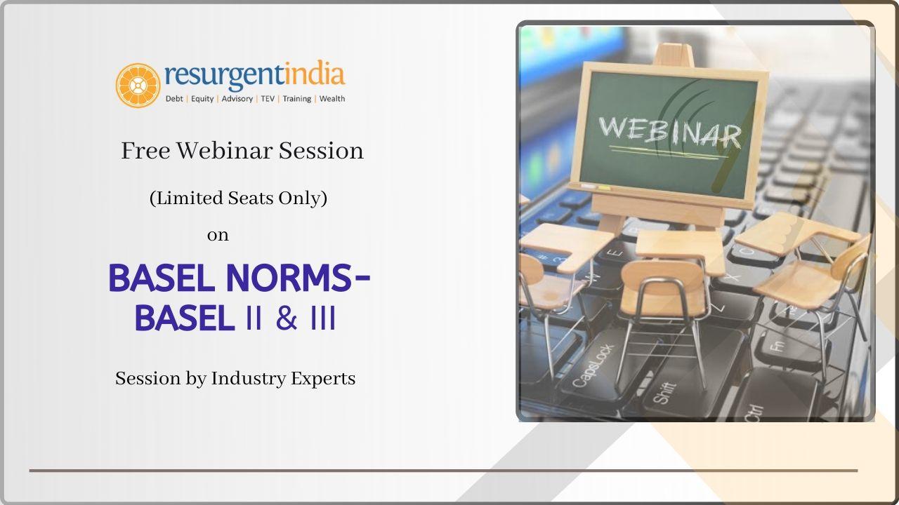 Webinar on- Basel II and Basel III