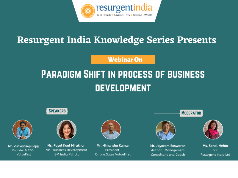 Webinar On Paradigm Shift in The Process of Business Development