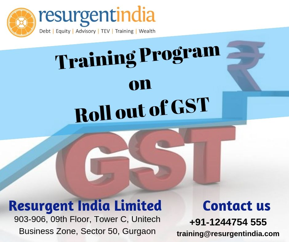 Training Program on Roll out of GST