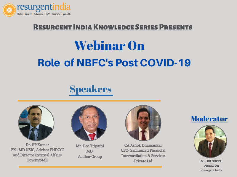 Webinar On Role of NBFC Post COVID-19