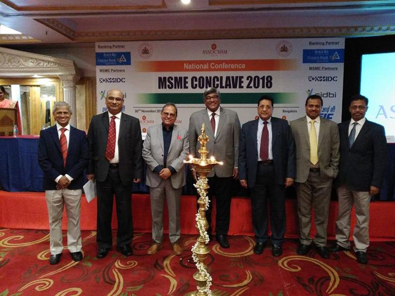 MSME CONCLAVE at Bengaluru -30th Nov 2018