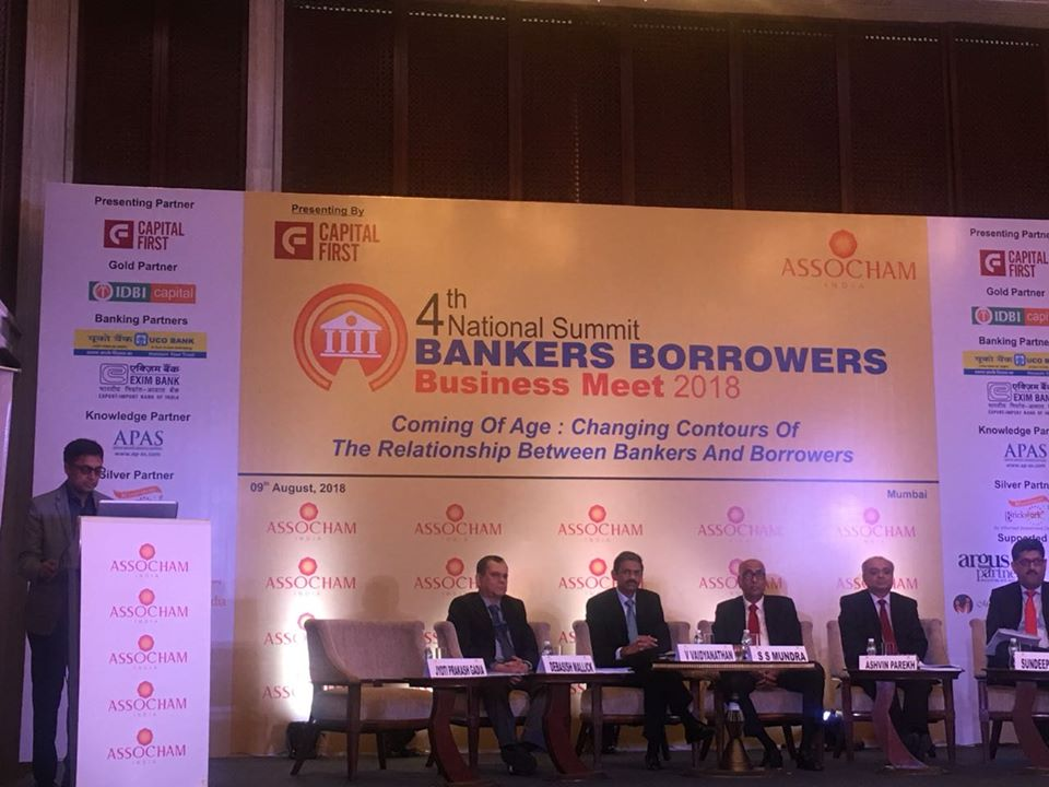 Bankers Borrowers Business Meet at Mumbai on 9th August 2018