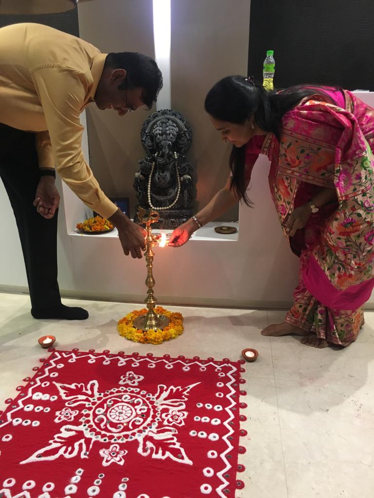 Celebrates Diwali - Oct-2019