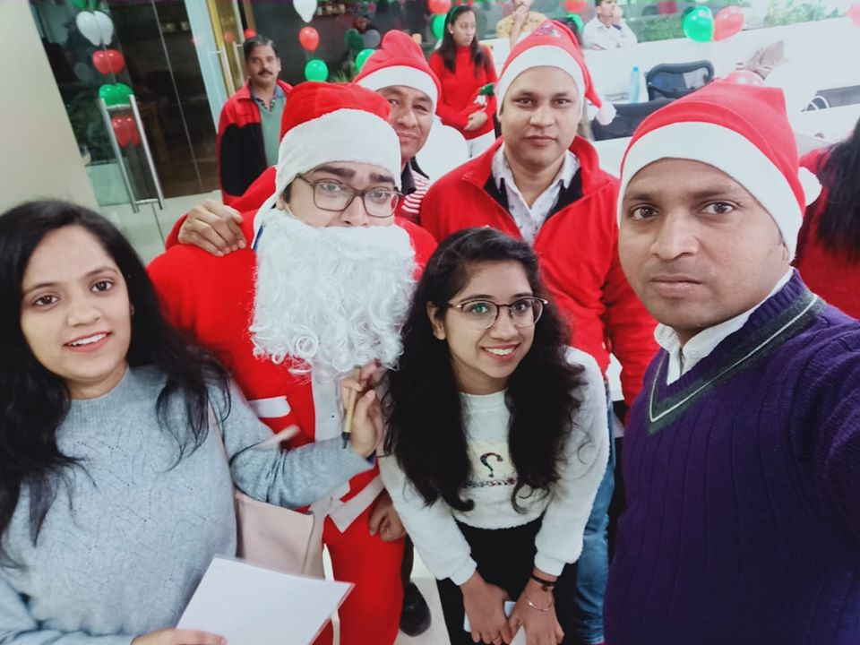 Santa Pays a Visit To Our Office -Dec- 2019