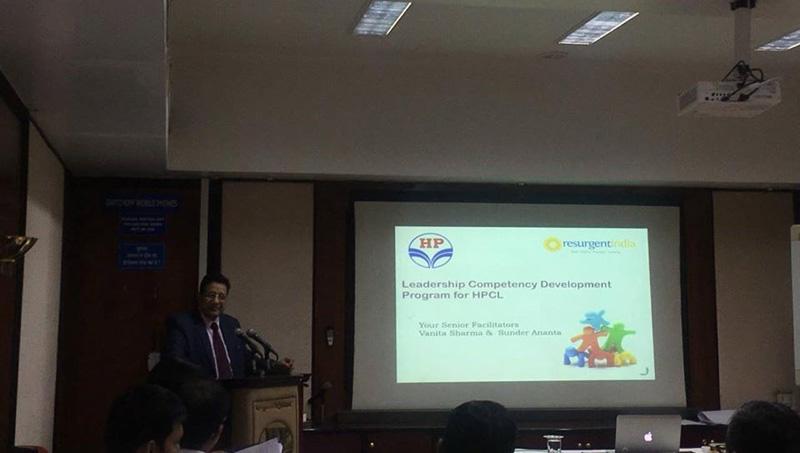 Leadership Competency Development Program for HPCL at Pune - 2018