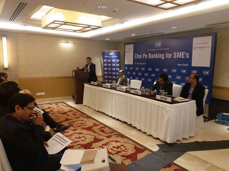 Chai Pe Banking,New Delhi - 15th Jan 2018