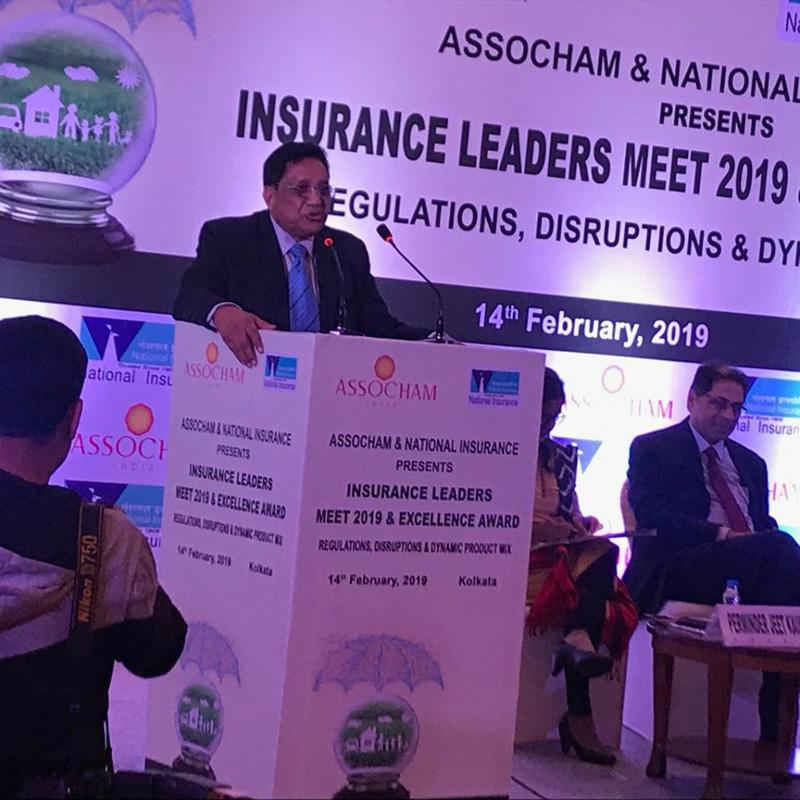 INSURANCE LEADERS MEET at TAJ GATEWAY Kolkata 14th Feb 2019