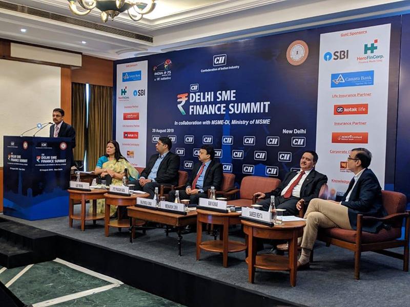 Delhi SME Finance Summit ,New Delhi -20 Aug 2019