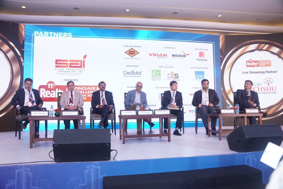 11th Realty Conclave & Excellence Awards 2019 North at Hotel Leela Ambience, Gurugram-11th September 2019