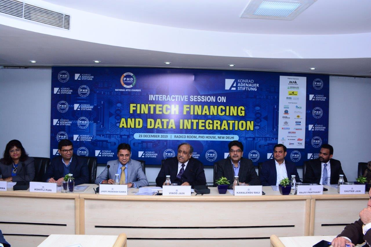Interactive Session -Fintech Financing and Data Integration at PHD House New Delhi - 23 Dec, 2019