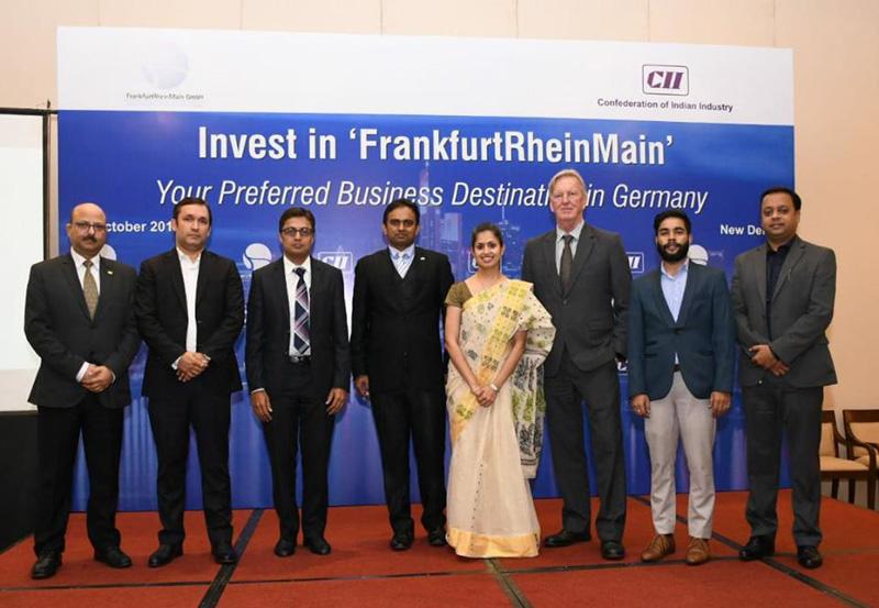 Session Address Invest in Farnkfurt - New Delhi on 17th October 2019