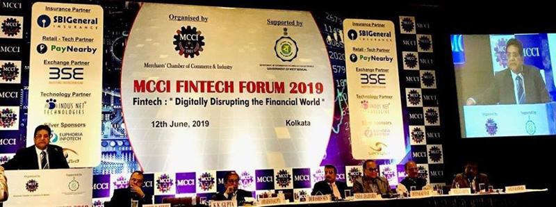 Digitally Disrupting the Financial World at Kolkata -12th June 2019