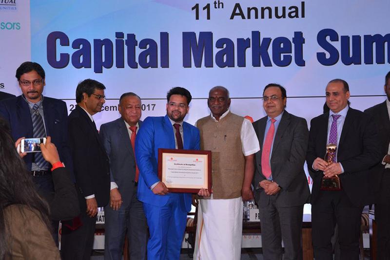 11th annual Capital Market Summit held on New Delhi-22nd Dec 2017