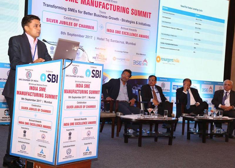 India SME Manufacturing Summit ,Mumbai - 8TH Sept 2017