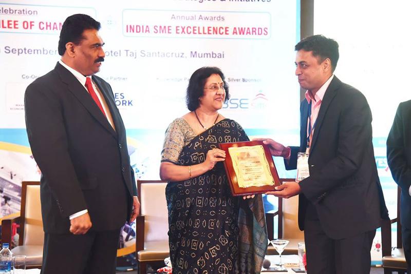 India SME Excellence award , Mumbai-16 Sept 2014